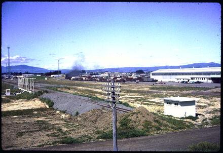New railway yards