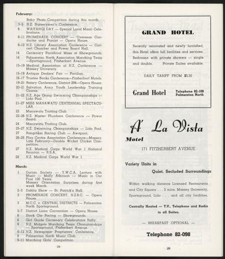 PRO Visitors Guide: Circa 1970's - 18