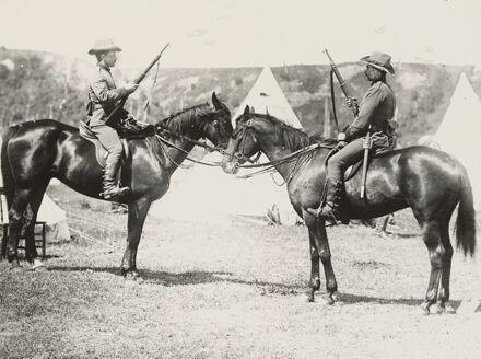 Members of the Manawatu Mounted Rifles