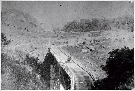 Upper Gorge Bridge and Settlement, near Woodville