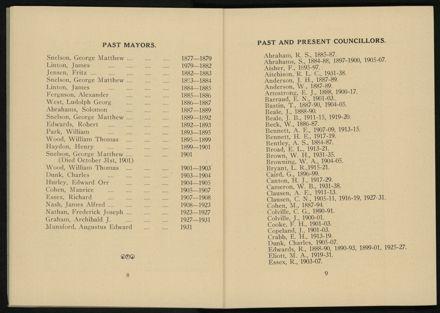 City of Palmerston North Municipal Hand Book 1937 6