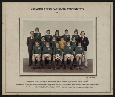 Manawatu B Grade 14-Year-Old Representatives 1975