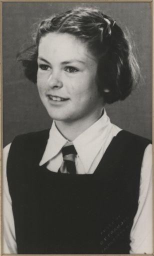 Vivienne Birch - Head Prefect, 1947
