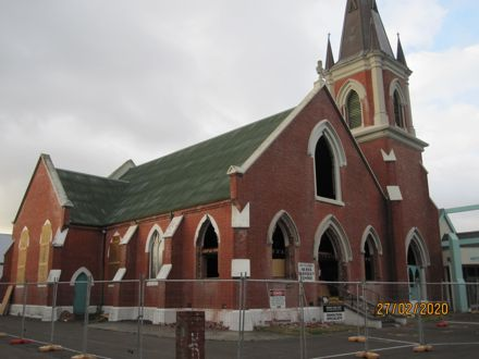 Wesley Methodist Church demolition