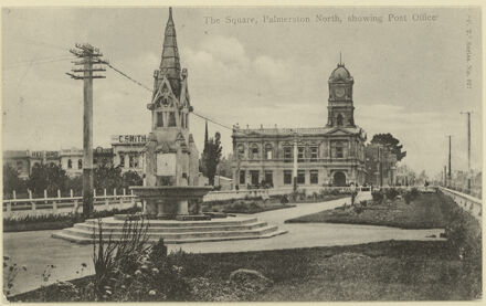 Coronation Fountain and Post Office