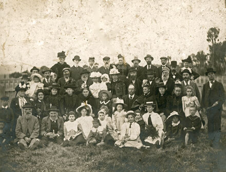 Palmerston North early settlers' picnic