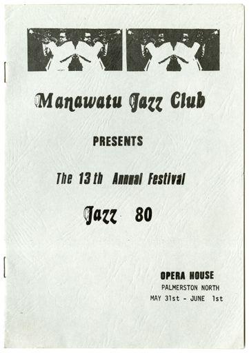 Jazz Festival Progamme, 1980