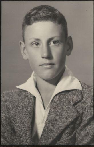 David Tennent - Terrace End School Dux, 1940