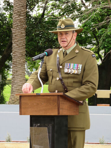 Awapuni Memorial Rededication