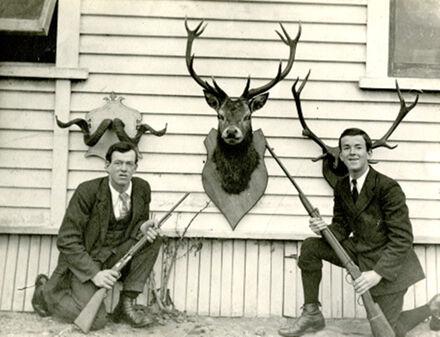 Tom and Ernie Davis