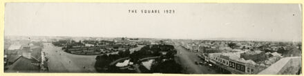 Panorama of The Square from the top of the Grand Hotel - 1923