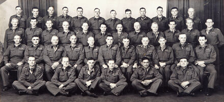 Officers of the Manawatu Battalion Home Guard