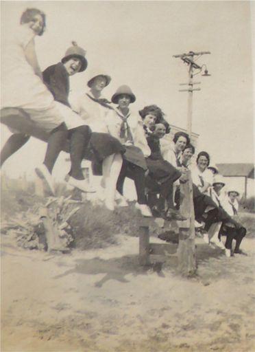 YWCA antics at Foxton Beach