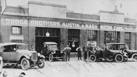 Turner's  Garage Ltd, Queen Street