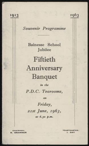Bainesse School Jubilee photo album 4