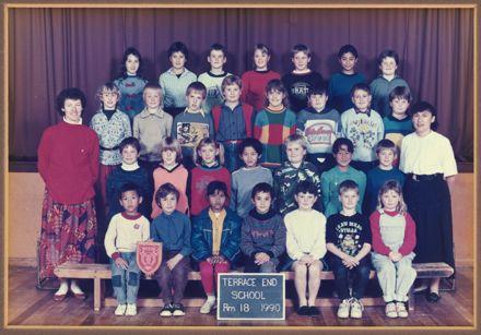 Terrace End School - Room 18, 1990