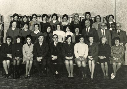 Palmerston North Public Library staff