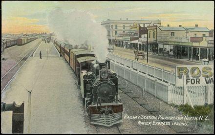 Railway Station, Palmerston North 1