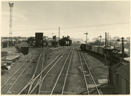 Shunting Yards, Palmerston North Railway Station, Main Street