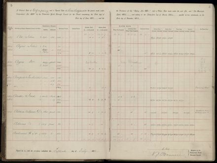 Palmerston North Rate Book, 1893 - 1896, 8
