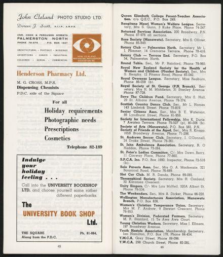 PRO Visitors Guide: Circa 1970's - 25