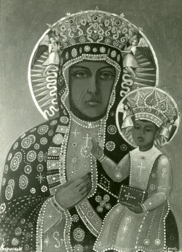 The Black Madonna, gift from Polish soldiers