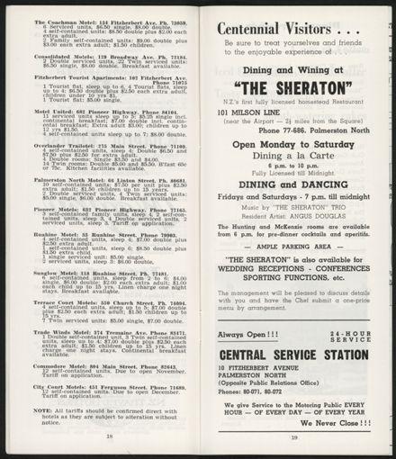 PRO Visitors Guide: Circa 1970's - 11
