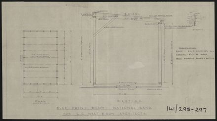 Architectural Plans for National Bank of New Zealand, Corner of Cuba Street & Rangitikei Street 6