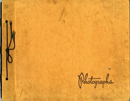 Beth Thompson photograph album