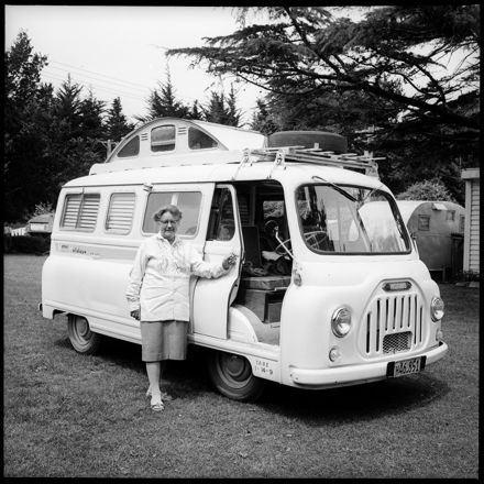 """Free and Easy -- American Style"" Travellers and their Camper Van"