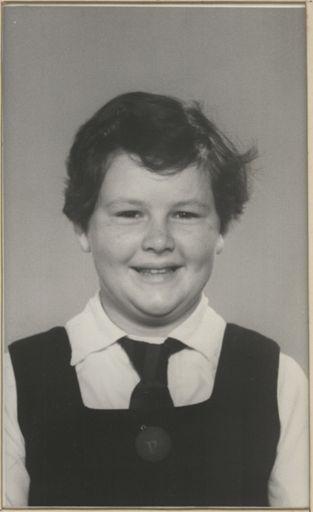 Janis Holland - Head Prefect, 1958