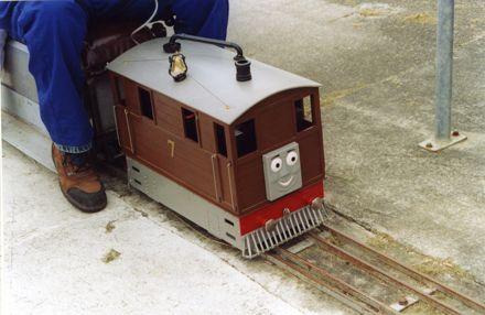 Miniature Train at The Esplanade.