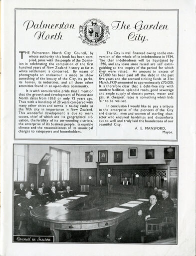 """Palmerston North: A Model Modern City' promotion publication 2"