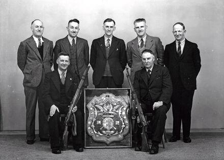 Manawatu Rifle Association with Challenge Shield