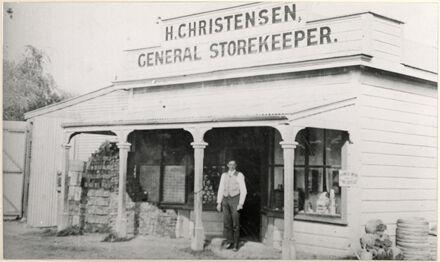 H Christensen - General Storekeeper