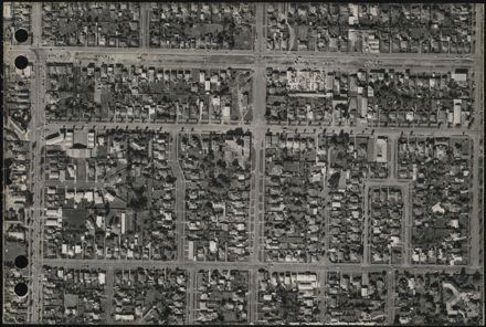 Aerial map, 1966 - F10