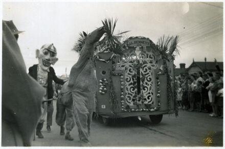 J L Bennett Ltd Float - 1952 Jubilee Celebrations