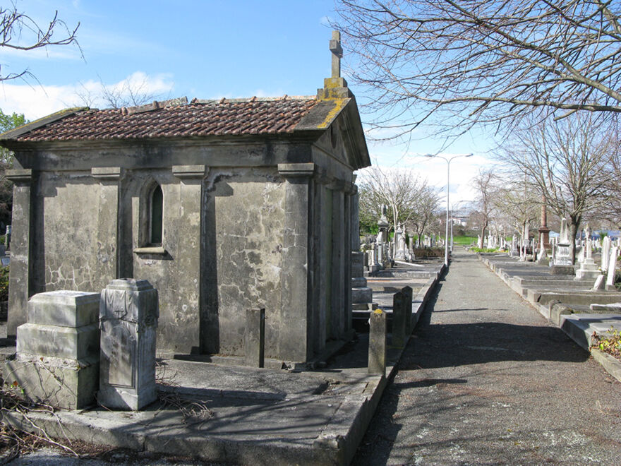 Notes for Tour of Historic Graves of Napier Road Cemetery