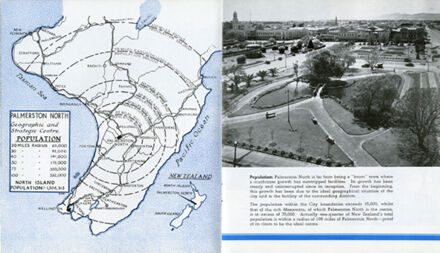 Page 4: 'A Garden City of New Zealand' promotional booklet
