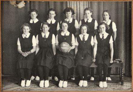 Palmerston North Technical School Netball D, 1937
