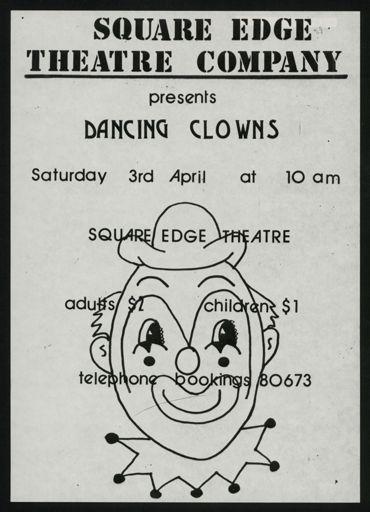 Square Edge Theatre Company performance poster