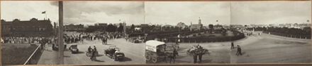 Panorama of The Square - 1916