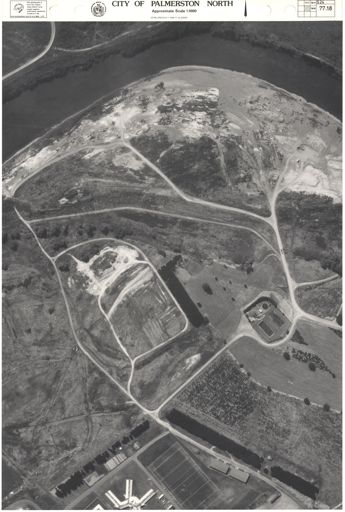 Aerial Map, 1986 - 77-18