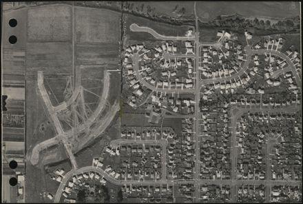 Aerial map, 1966 - D12