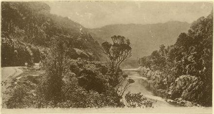 Manawatu Gorge looking eastwards