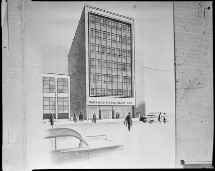 """Modern City Skyline"" - New Barraud & Abraham Building"
