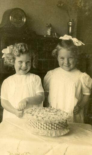 Pamela Baddily and Patricia Hayes