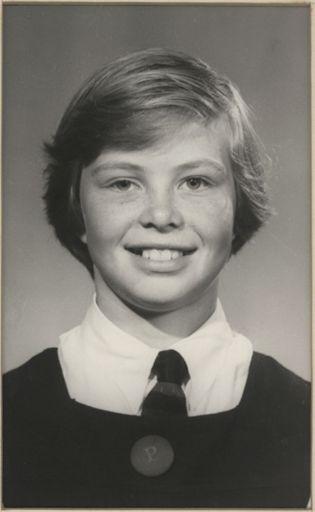 Sandra Hawke - Runner-up Dux, Terrace End School, 1960