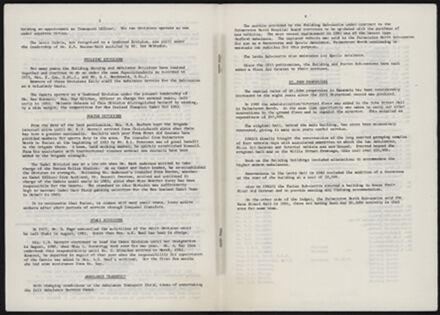 Supplement to History of the St John Ambulance Association Manawatu, 1900-1975 5