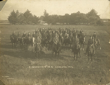 E Squadron 9th Mounted Rifles, Rangiotu